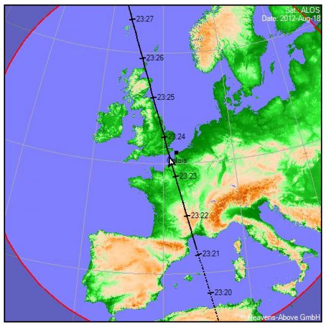 2012: le 18/08 à 22h30 - Lumière étrange dans le ciel  - Calais (62)  884783yoh442717