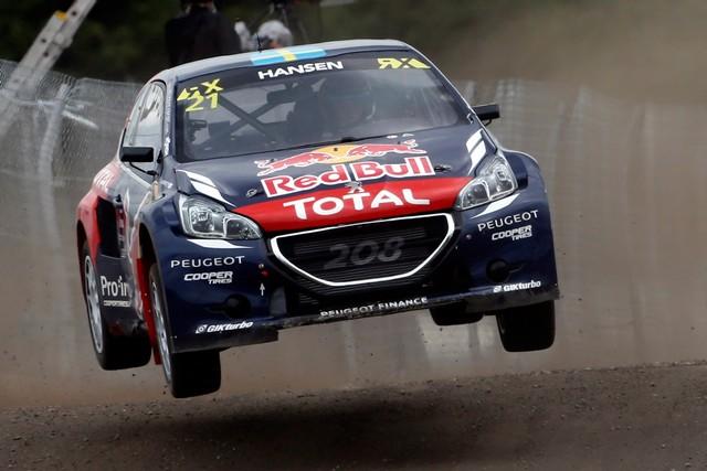 Rallycross : La PEUGEOT 208 WRX et le Team Peugeot Hansen triomphent au Canada ! 88499255c616edc8068