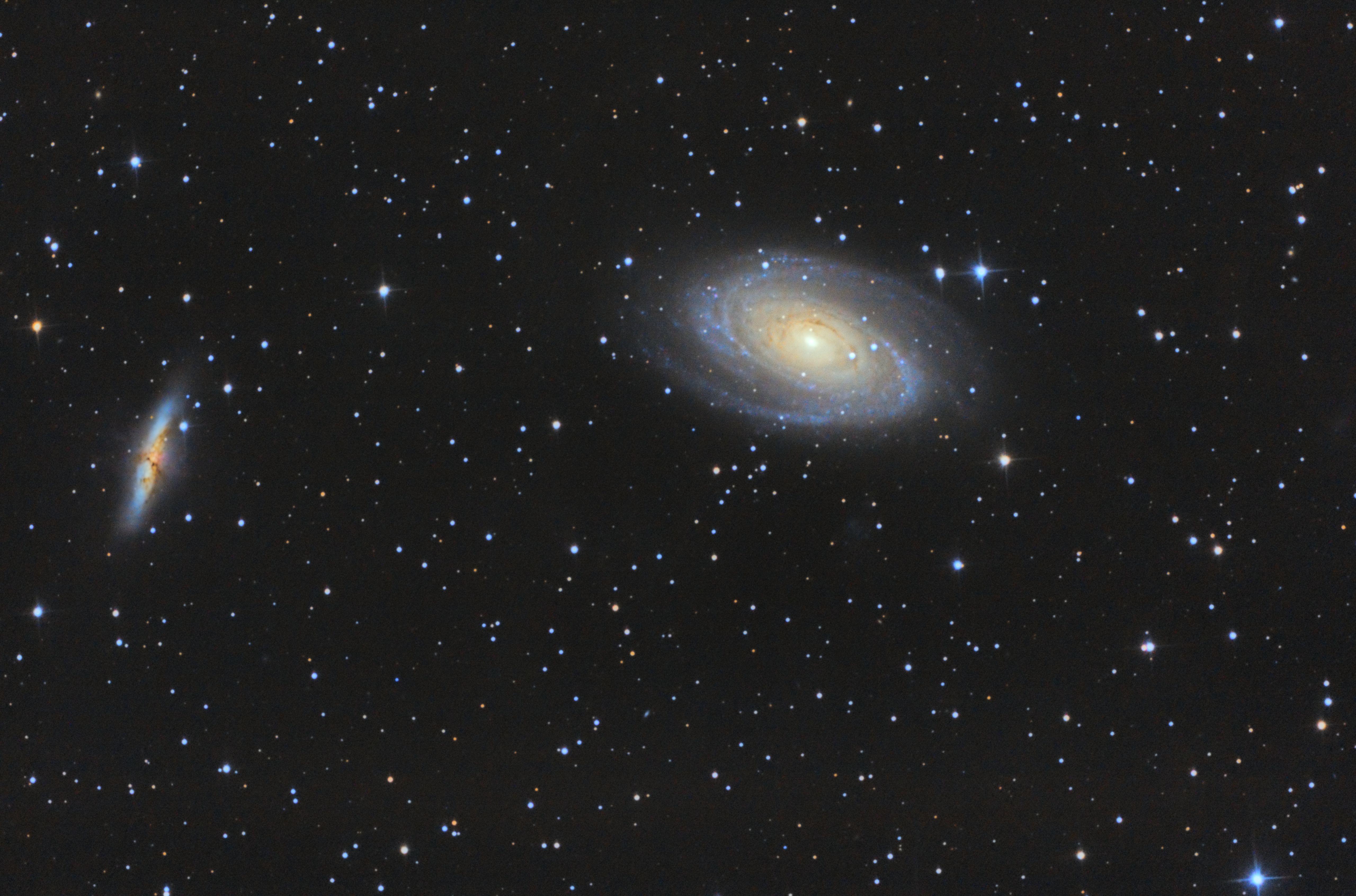 Duo galactique : M81/M82 885874M81M82