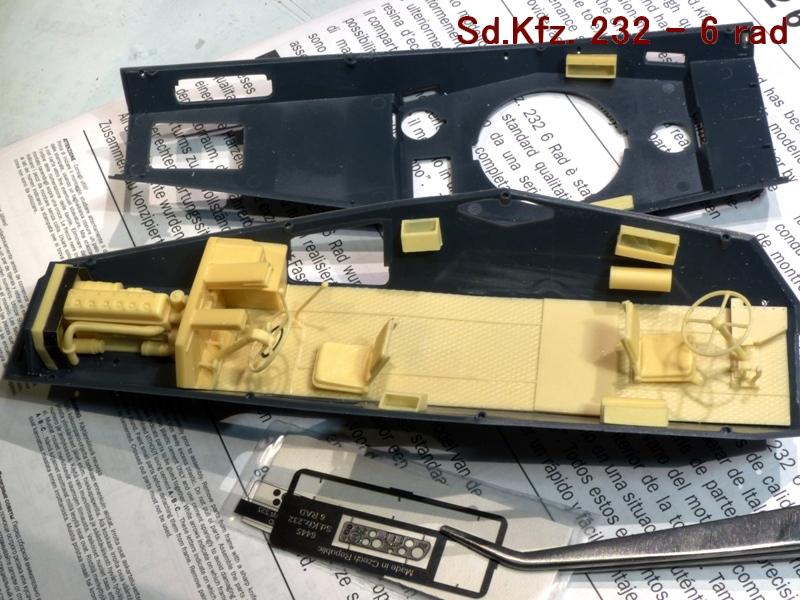 Sd.Kfz. 232 6 Rad - France 1940 - Italeri 1/35 886099P1030905