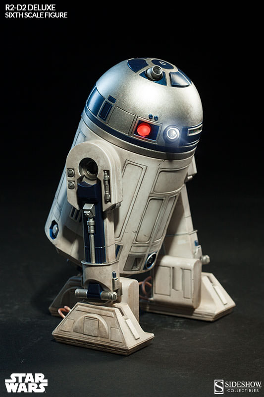 Sideshow - R2-D2 Deluxe Sixth Squale Figure 8864852172r2d2deluxe005
