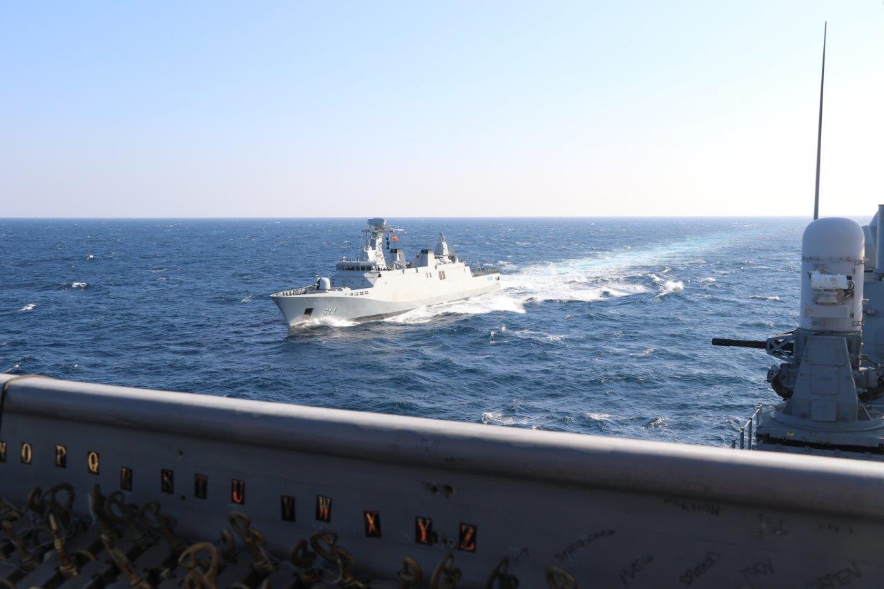 EVOLEX USS Vella Gulf - RMN Sultan Moulay Ismail 88749738827448771b6cd8247c3o