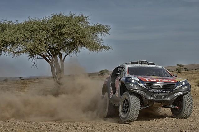 Team Peugeot Total : Rallye du maroc / ETAPE 1 : Boucle de Zagora 88887705315002006