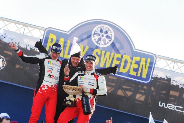 Jari-Matti Latvala Gagne En Suède Avec La Yaris WRC Et Prend La Tête Du Championnat Du Monde 890143RO20170021545