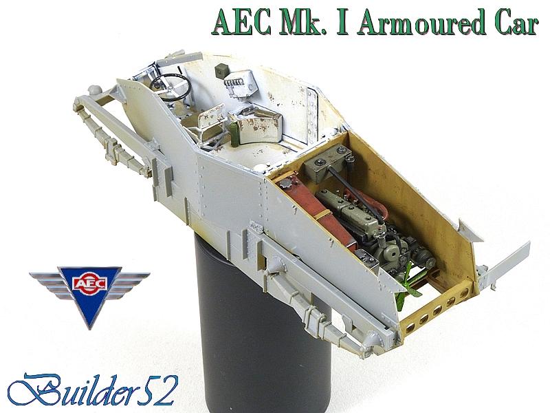 AEC Mk.I Armoured Car - Lybie 1942 - Miniart 1/35 - Page 2 890856P1050105