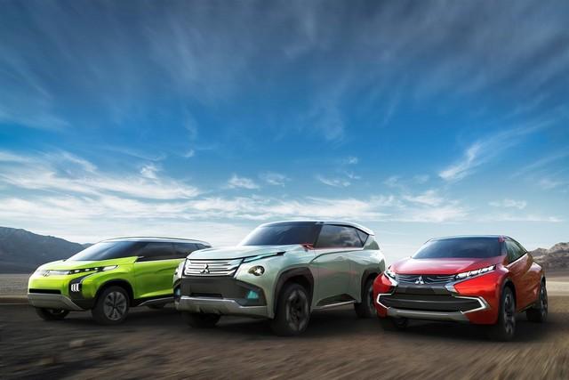 Mitsubishi présente ses trois concepts 8909562013tmslineup
