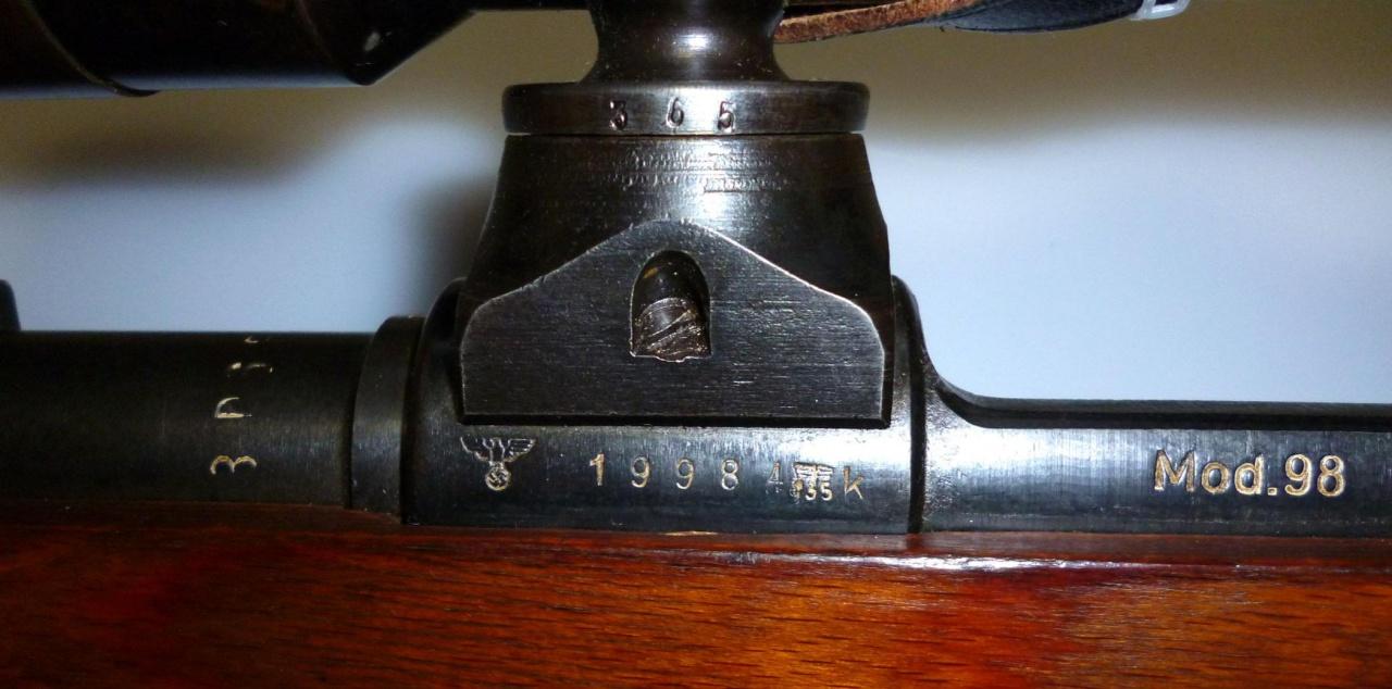 L'arme du tireur d'élite allemand de la Wehrmacht (1939-1945) : le Mauser K98k 891696WaA135