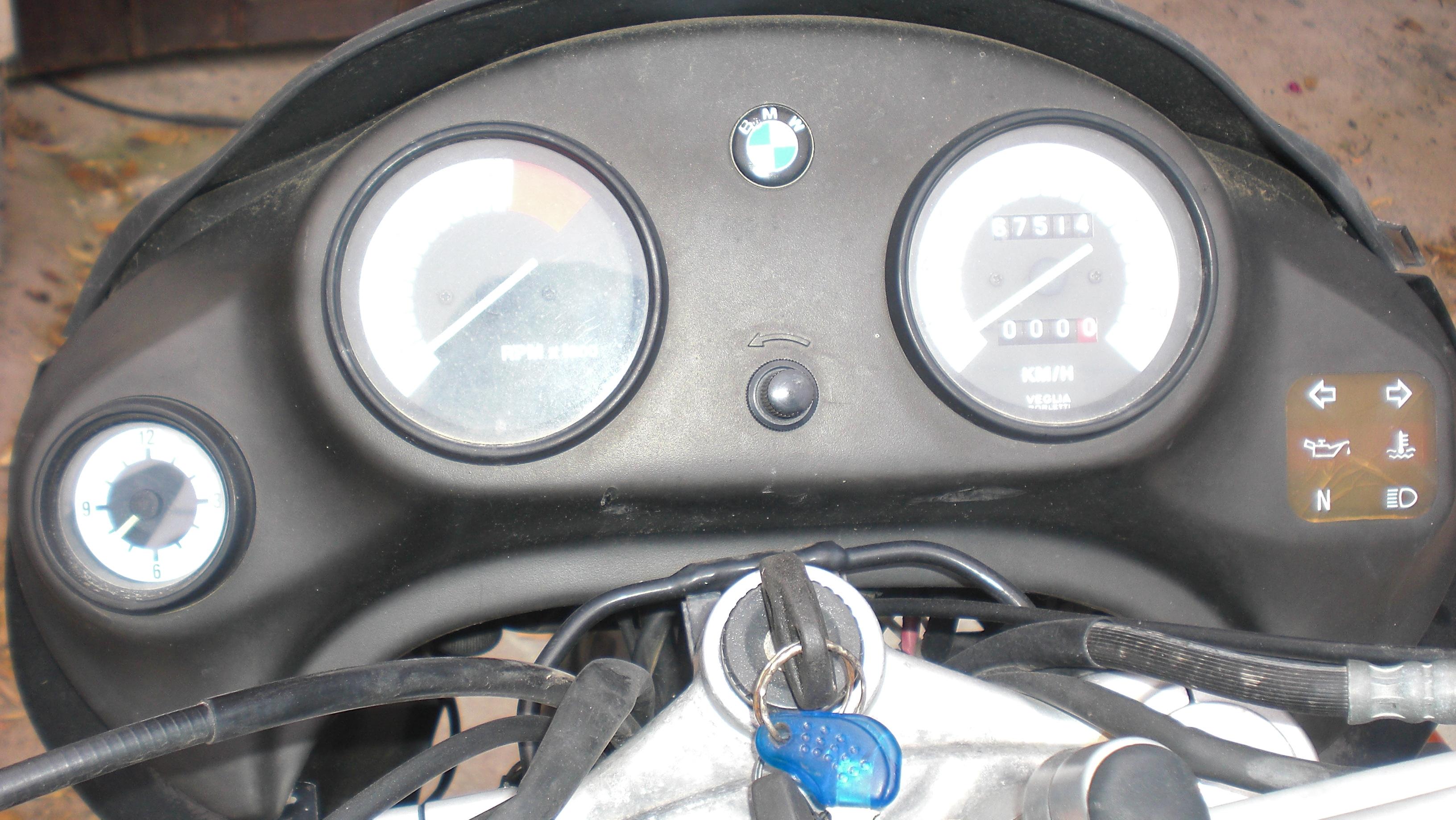 La voilà, la F 650 made in Corsica 891798CIMG9062