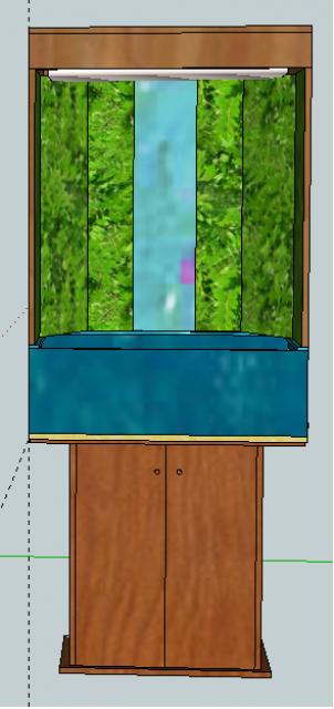 Le nouveau mur végétal de Olivetzou (projet fini à 98%) enfin les leds 892298modle1paludarium