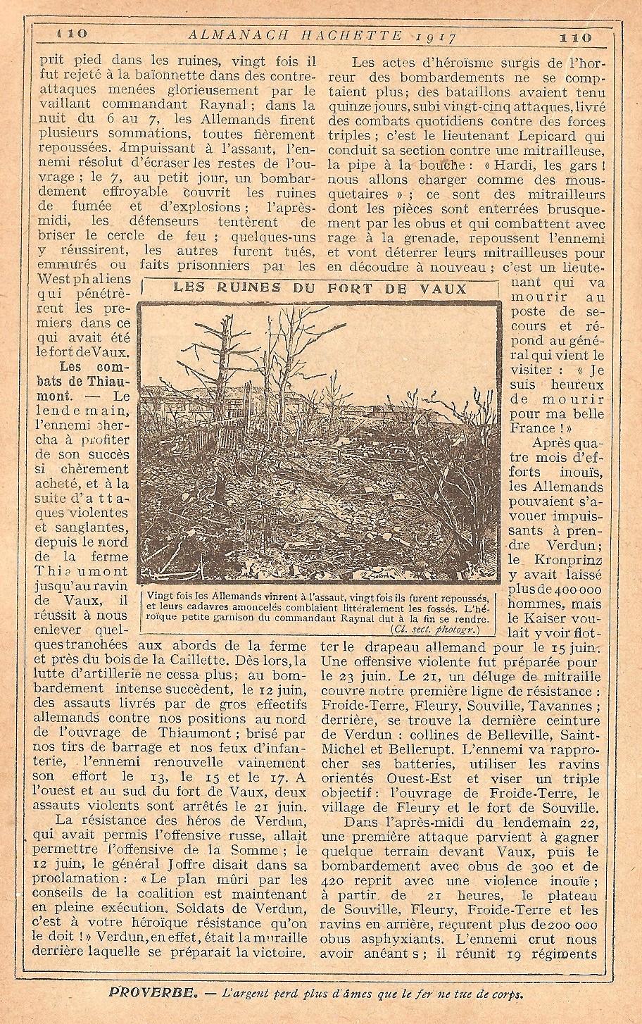 [ Histoires et histoire ] LE CENTENAIRE DE LA GRANDE GUERRE - Page 5 892300Verdun13
