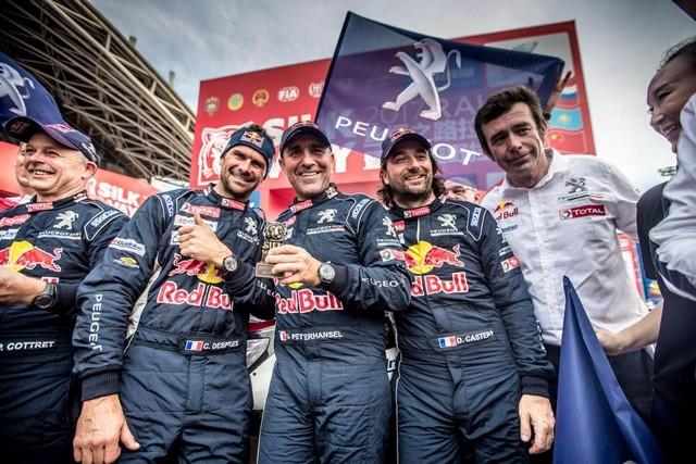 Peugeot Triomphe Pour La Deuxième Année Consécutive Sur Le Silk Way Rally 89392520228455