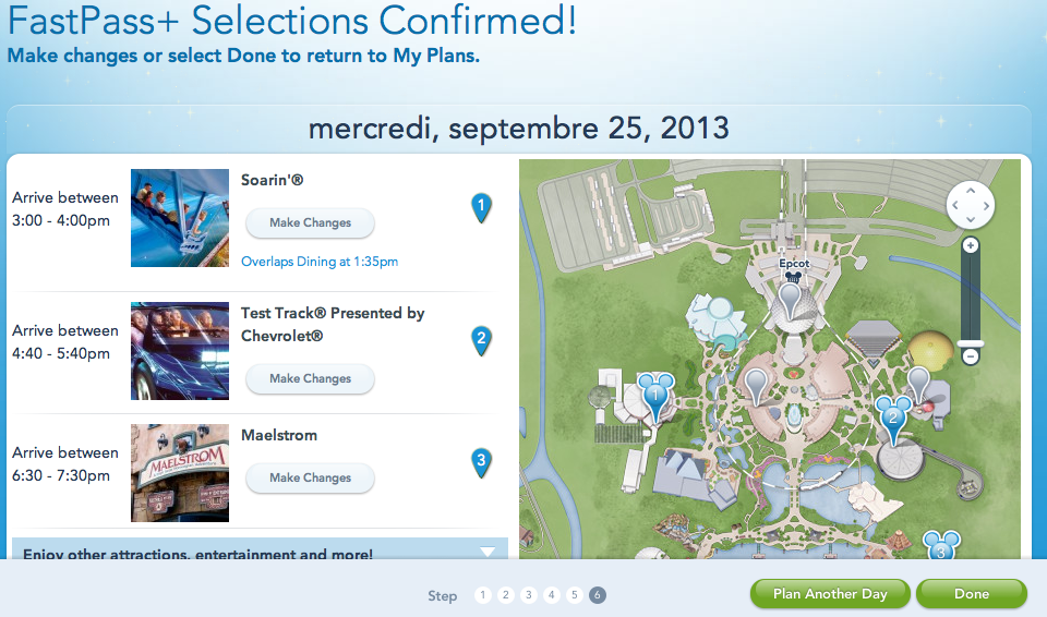 MyMagic+: FastPass+, MyDisneyExperience et MagicBands [Walt Disney World Resort] - Page 5 894218Capturedcran20130820001120