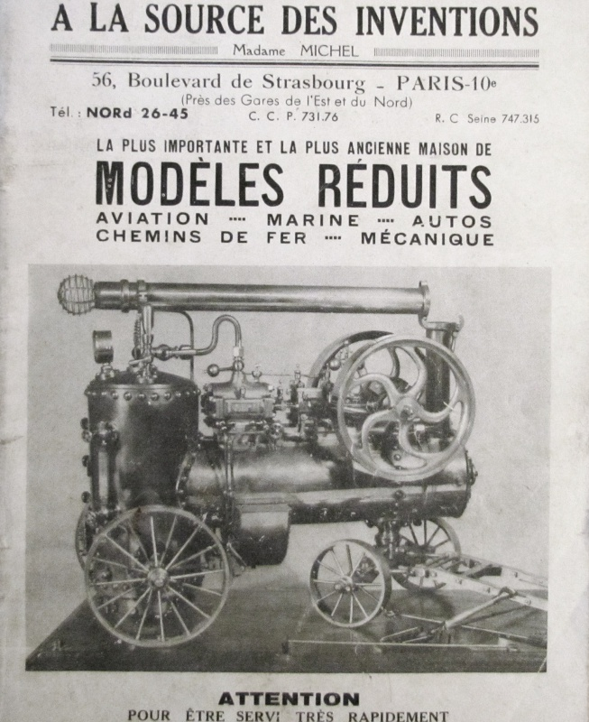 un catalogue de modèles réduits en 1951 895025IMG7968