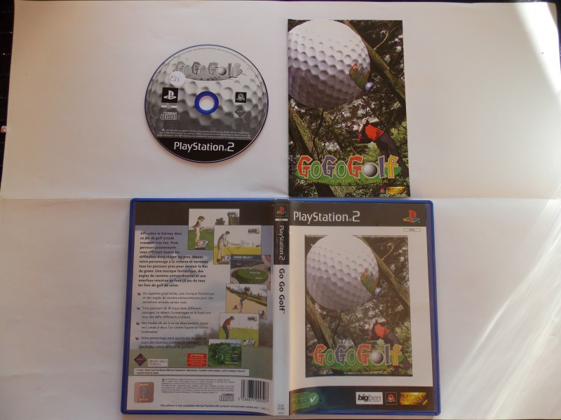Go Go Golf 895221Playstation2GogoGolf