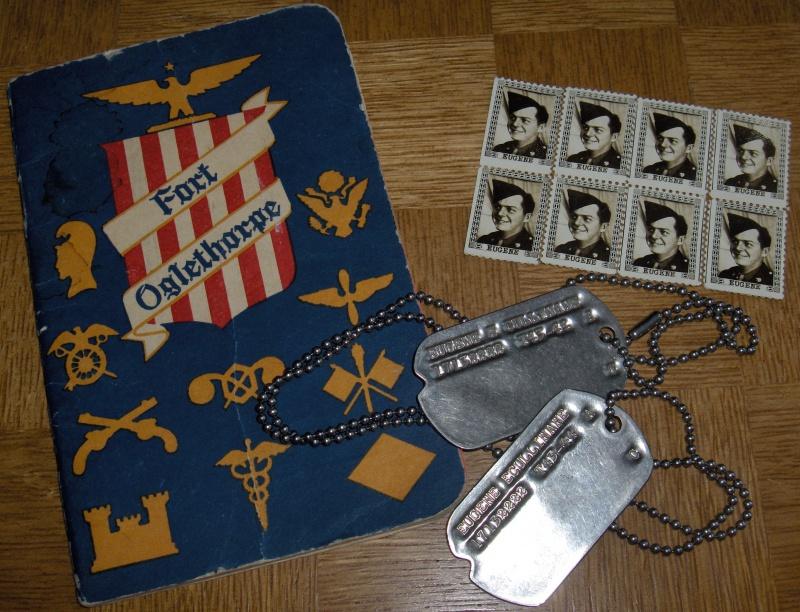 Les Dog Tag U.S. WWII 896748DogTag026