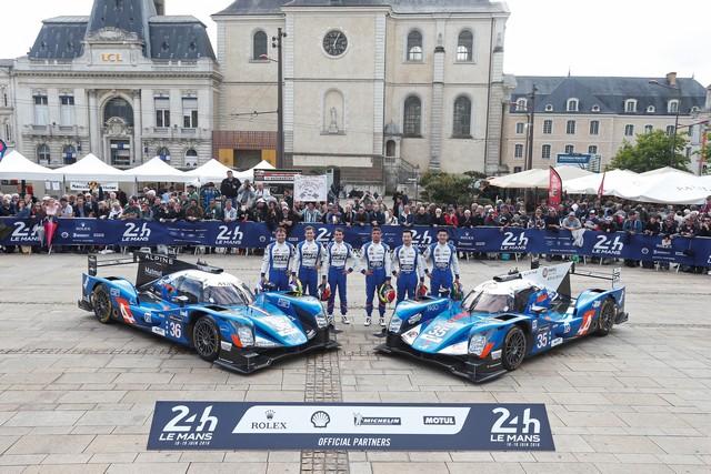 Alpine présent en force pour l'édition 2016 du Mans Classic 8968507980416
