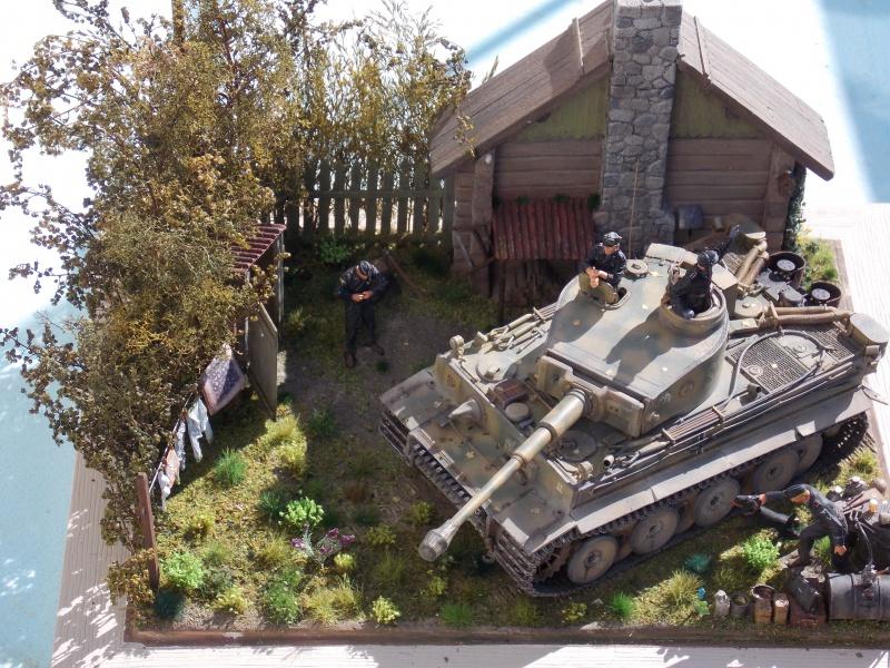 TIGRE S33  avant la bataille de Koursk juillet 43 (Dragon 1/35 dio DIODUMP) - Page 9 897745DSCN4766