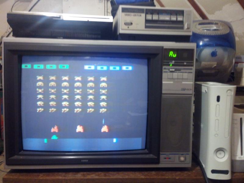 Mod composite Intellivision SECAM 89875336tv