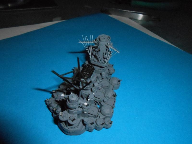 Yamato 1/700 fuji, PE,Pont en bois et babioles - Page 3 899304DSCN5432