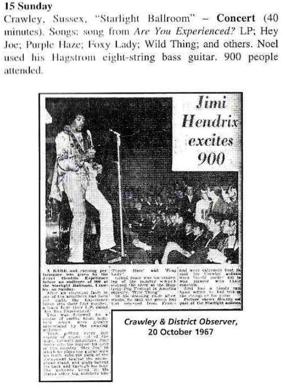 Crawley  (Starlight Ballroom) : 15 octobre 1967 901499crawley