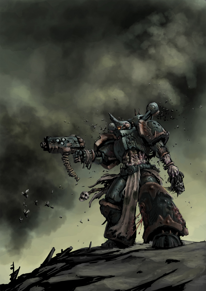 [W40K] Collection d'images : Space Marines du Chaos 901940ChaosRising5
