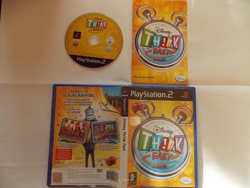 Disney th!nk Fast 902408Playstation2DisneythnkFast