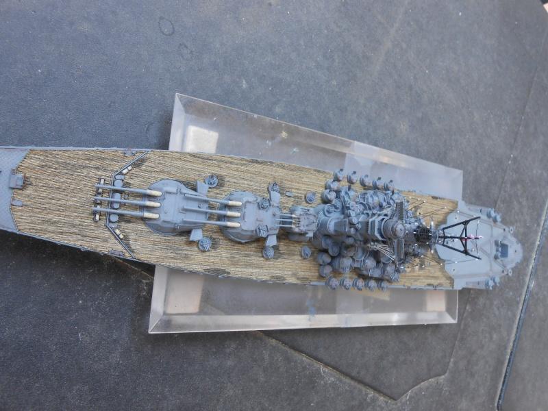 Yamato 1/700 fuji, PE,Pont en bois et babioles - Page 4 905227DSCN6174