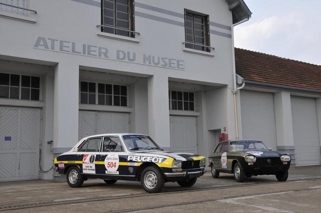 Les PEUGEOT 504 et Coupé 204 engagées au Tour Auto 2017  907085DSC0333