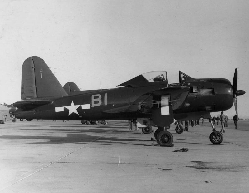 VOUGHT F-8 CRUSADER  909858RyanFR1FireballVF66NorthIsland1945