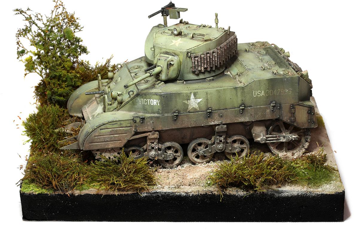 M5A1 stuart Tamiya 1/35 911807M5A1dio15wb