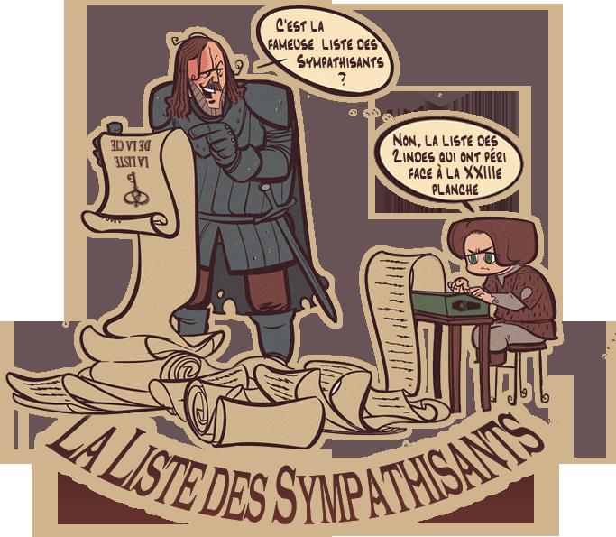 La Liste des Sympathisants 912029ListedesSympathisants