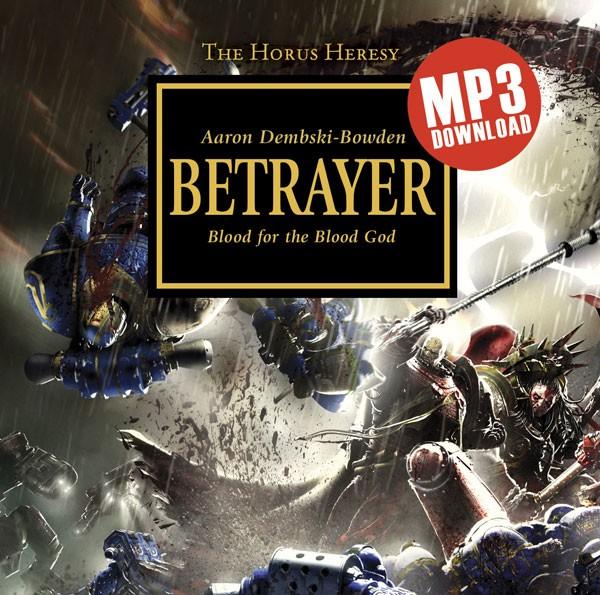 [Horus Heresy] Betrayer by Aaron Dembski-Bowden (premium hardback)   912186audiobetrayer
