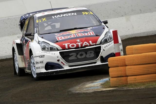Rallycross - Les PEUGEOT 208 WRX dans le match, Timmy Hansen sur le podium à Hockenheim 913335590ec92683b93