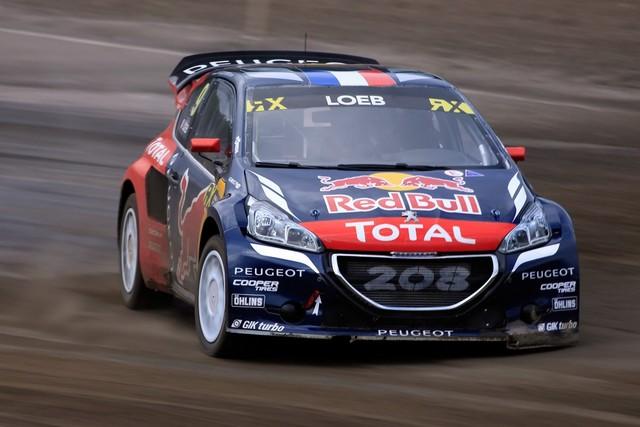 Les PEUGEOT 208 WRX enflamment la Suède - 2ème et 3ème en World RX et victoire en EURO RX 915806wrx2016070100180