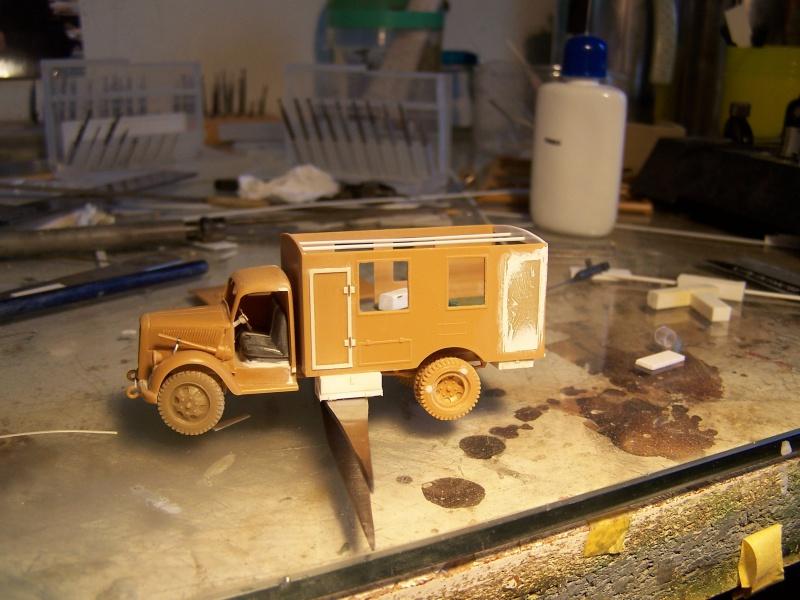 Opel Blitz Ambulance Normandie été 1944 9161391005850