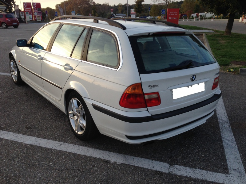 Ma nouvelle acquisition une BMW 320iA Touring 916310IMG4983