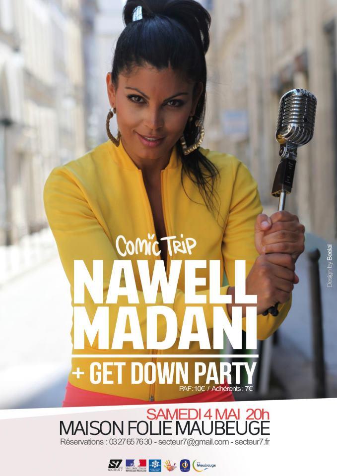 Comic Trip avec Nawell Madani + Get Down Party !!! 918088visuel