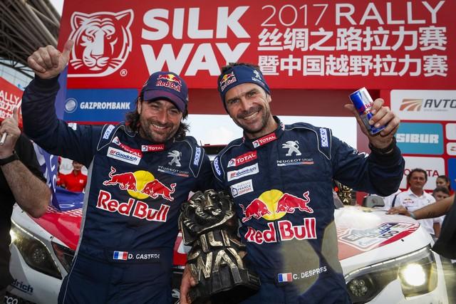 Peugeot Triomphe Pour La Deuxième Année Consécutive Sur Le Silk Way Rally 920691P2017072200285News