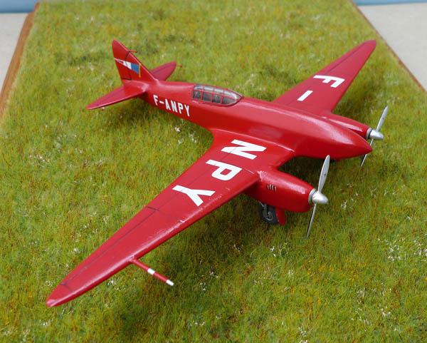 [Airfix + conversion Whirlybird] De Havilland 88 Comet... Français 922959Dh88Comet27