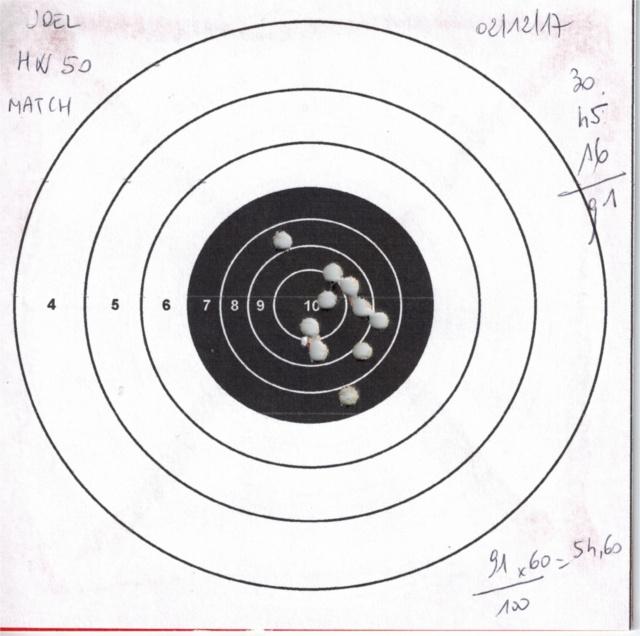 Tests plombs avec carabine Weihrauch HW50S 924704HW50GAMOMATCH1