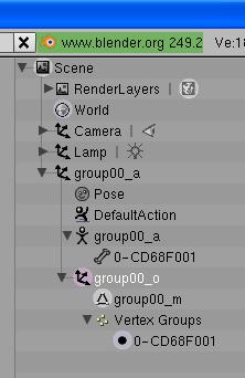 [Apprenti] [Blender 2.4 à 2.49] Créer et intégrer son premier mesh de A à Z / 8-Remplacement du mesh d'origine dans Blender 9247652708