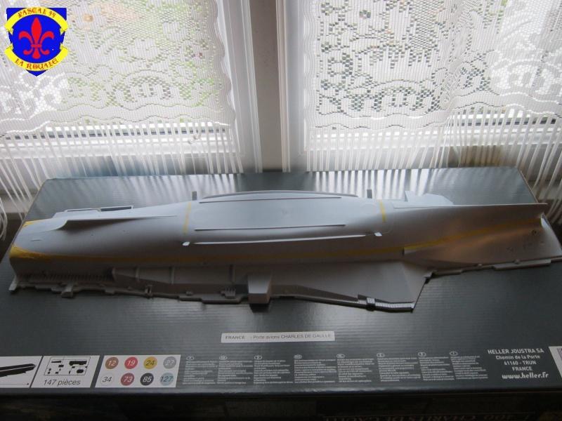 Porte avions Charles De Gaulle au 1/400 d'Heller  925821IMG25301