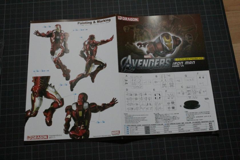 Iron Man [Armure Mark VII] Dragon 1:9 Ref 38311 927120DPP140