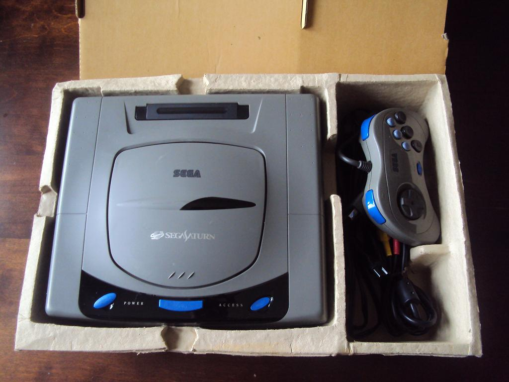 [Vds] Console sega saturn V1 japan HST-0001 en boite + 3 jeux 928706DSC04462