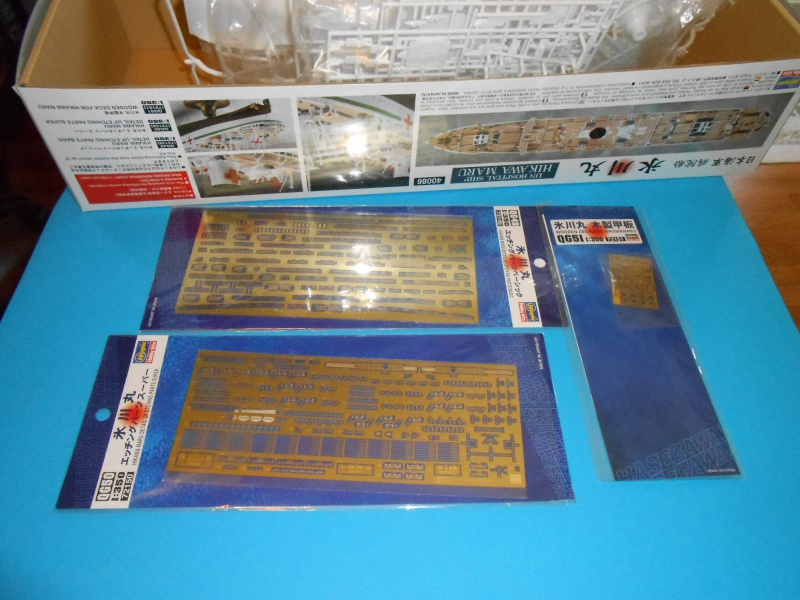 Hikawa Maru hopital 1/350 PE/pont en bois et babioles  929118DSCN5563