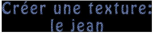 [Débutant] Créer une texture: le jean 929259jeeea