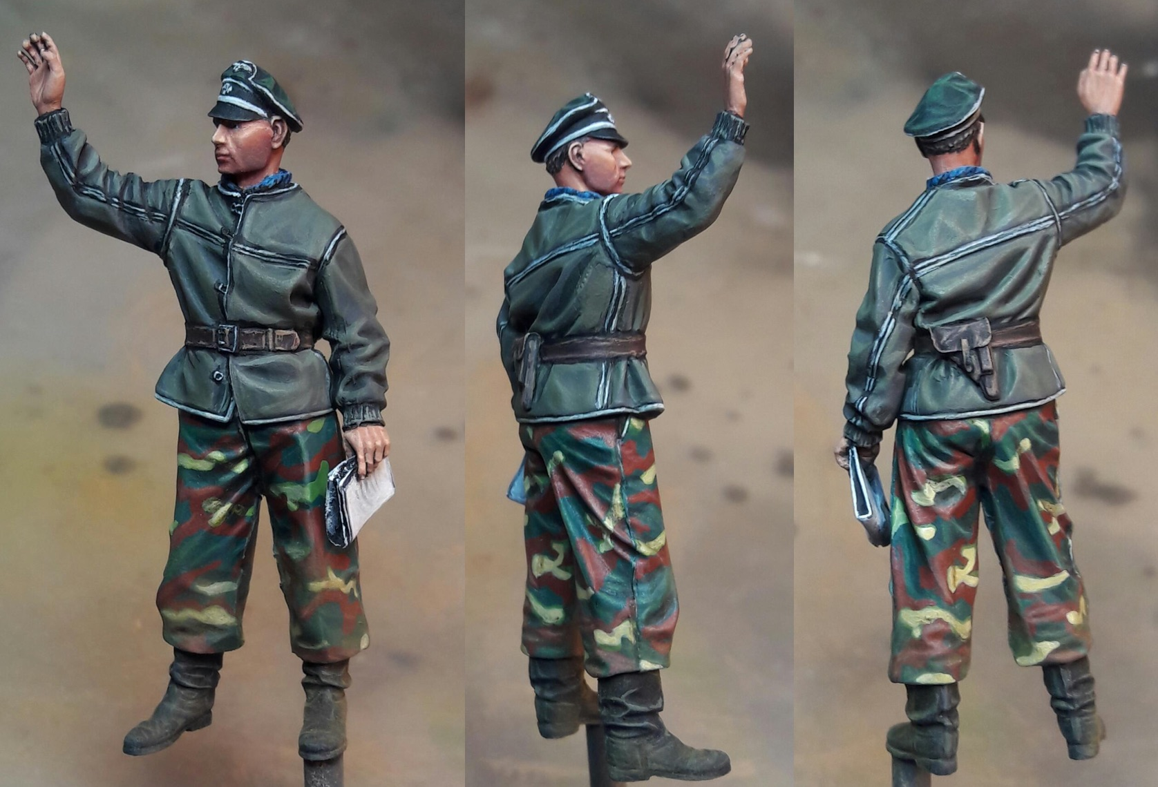 Josef Diefenthal in the Ardennes - 1/35ème 929826Officer3views1