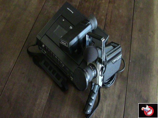 Caméra Panasonic PK-750 et VCR Portable NV-8410 93070430