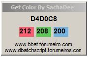 [exe] Get Pixel Color 931624pixelcolor