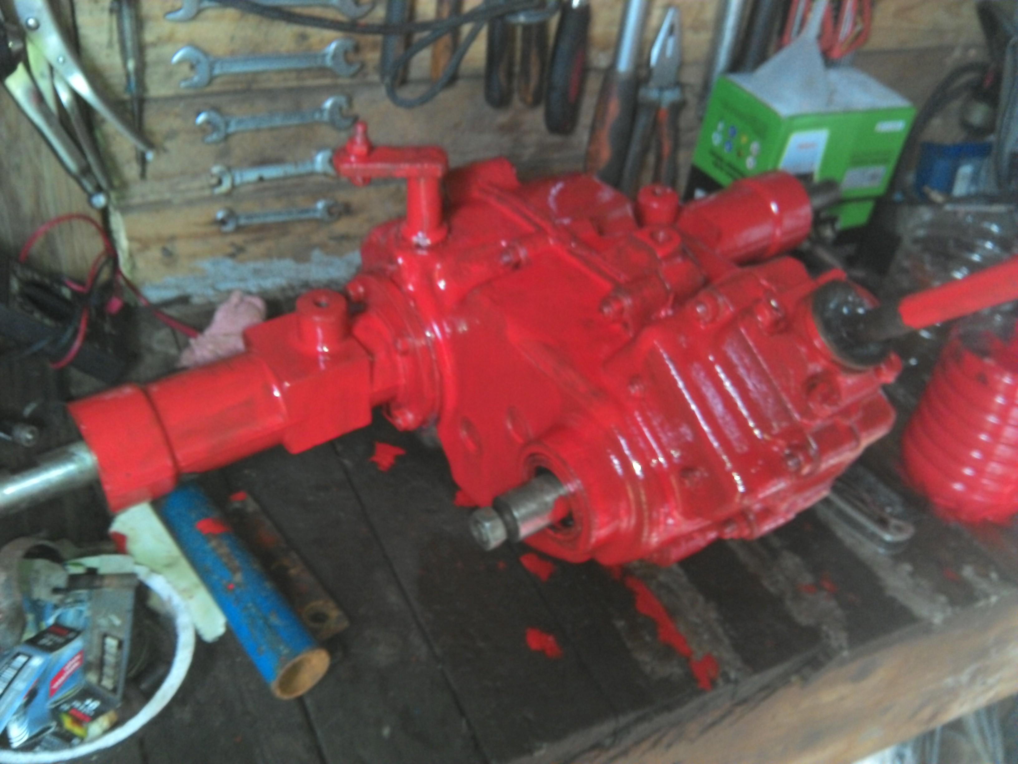 Restauration micro tracteur motostandard 1017 932001IMG20131116111041
